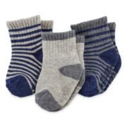 Carter's® 6-pk. Crew Socks - Baby Boys newborn-24m