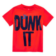 Okie Dokie® Short-Sleeve Sports Tee - Toddler Boys 2t-5t