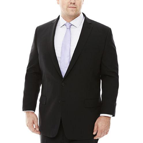 Claiborne® Grid Suit Jackets - Big & Tall