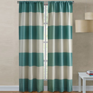 jcpenney.com | Richloom Dean 2-Pack Rod-Pocket Curtain Panels
