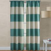 Richloom Dean 2-Pack Rod-Pocket Curtain Panels