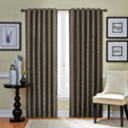 Vue™ Signature Fallon Room Darkening Rod-Pocket Curtain Panel