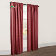 Josephine Faux Silk Thermal Shield Curtain Panel
