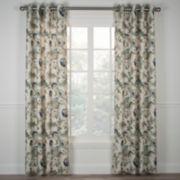 Brissac Lined Grommet-Top Curtain Panel