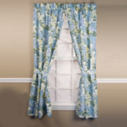 Hydrangea 2-Pack Rod-Pocket Curtain Panel