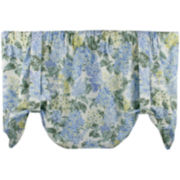 Hydrangea Tie-Up Rod-Pocket Valance