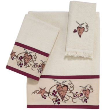 jcpenney.com | Avanti® Hearts & Stars Bath Towel Collection