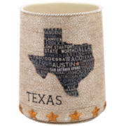 Avanti Texas Lone Star Wastebasket
