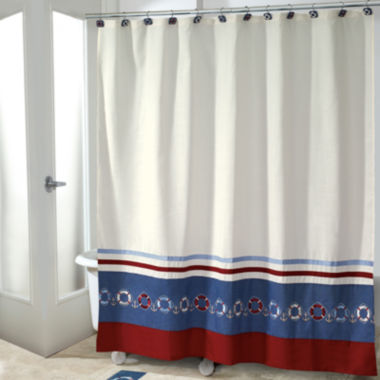jcpenney.com | Avanti® Life Preservers II Shower Curtain