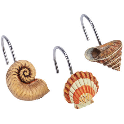 Avanti® Seaside Vintage Shower Curtain Hooks