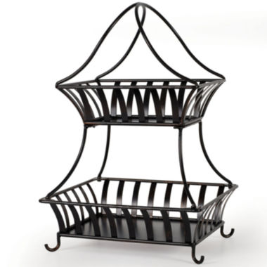 jcpenney.com | Gourmet Basics by Mikasa® Bristol 2-Tier Basket