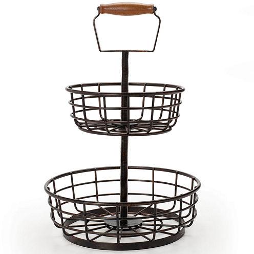 Gourmet Basics By Mikasa® Thread 2-Tier Basket