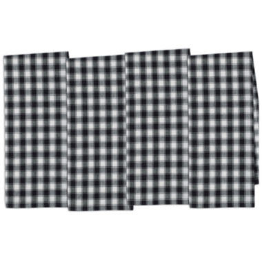 jcpenney.com | Design Imports French Check Set of 4 Kitchen Towels