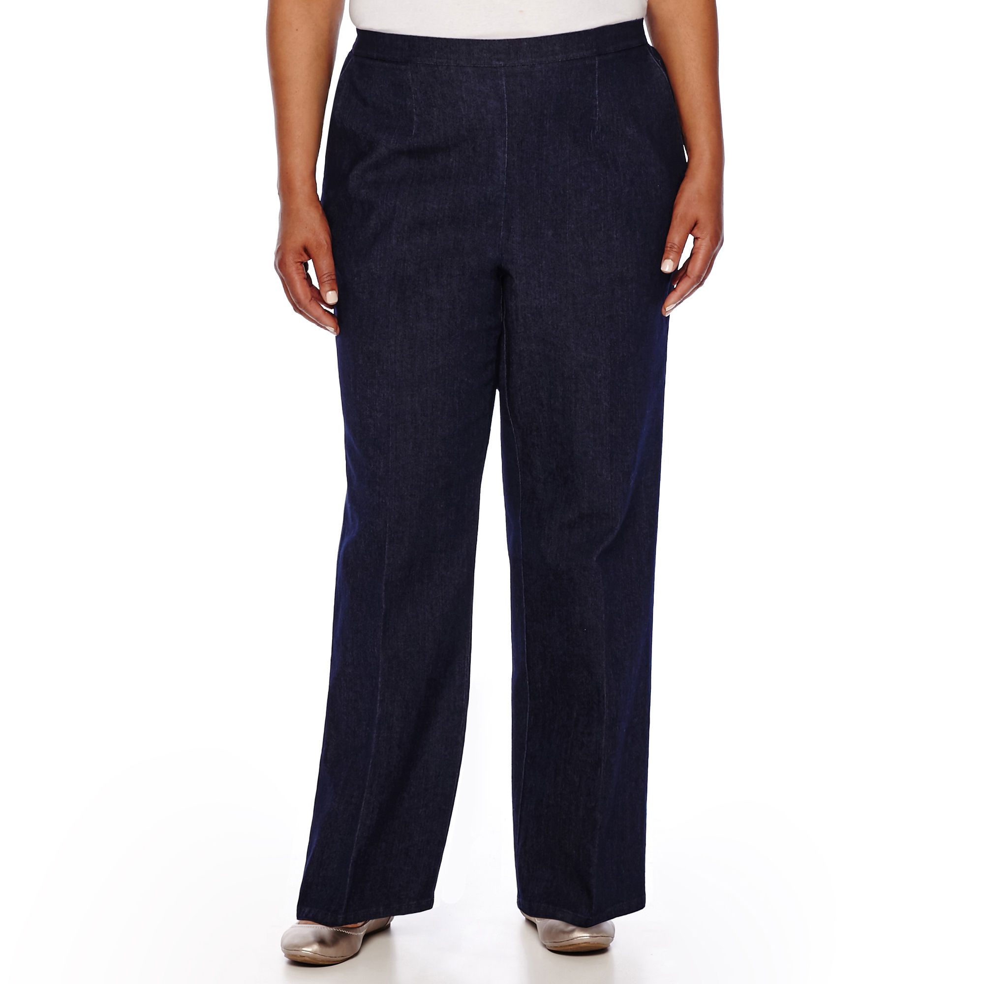 Alfred Dunner All Aboard Pull-On Pants - Plus
