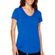 Stylus™ Short-Sleeve Voop Pocket T-Shirt - Tall