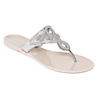 jcpenney.com | Laguna Infinity Jelly Strap Sandals