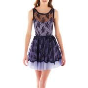 Be Smart Sleeveless Lace Dress