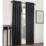 Sun Zero™ Cassara Rod-Pocket Blackout Curtain Panel