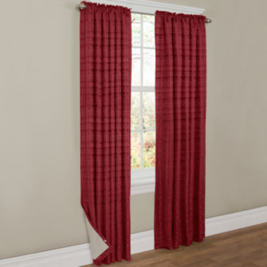 jcpenney.com | Thermal Shield™ Francesca Rod-Pocket Thermal Blackout Curtain Panel