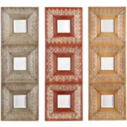 Katni Set of 3 Decorative Wall Mirrors