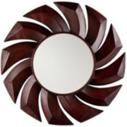 Neema Sunburst Round Wall Mirror