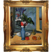 The Blue Vase Framed Canvas Wall Art
