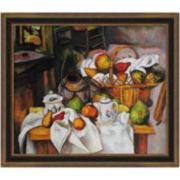 Table Granger, 1888, Framed Canvas Wall Art