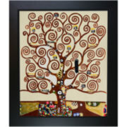 Tree of Life Framed Canvas Wall Art