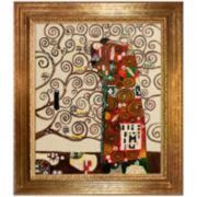 Fulfillment - The Embrace Framed Canvas Wall Art