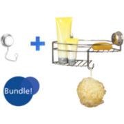 Twist'N'Lock Plus Combo Basket & Robe Hook