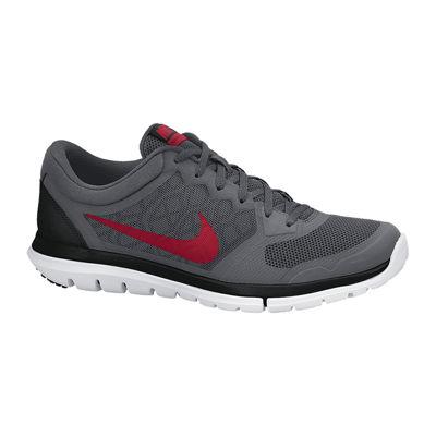 Nike Flex Courir 2015 Hommes Chaussures De Course Rouge