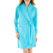 Jasmine Rose Pique Terry Waffle Robe