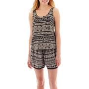 Decree® Back-Back Tank Top or Crochet-Trimmed Soft Shorts