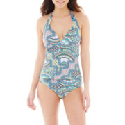 a.n.a® Tribal Print Push Up Tankini Swim Top or Hipster Bottoms