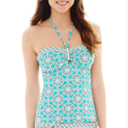 a.n.a® Medallion Tankini Swim Top