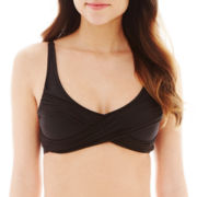 a.n.a® Strappy Criss-Cross Halter Swim Top