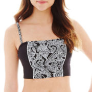 Stylus™ Garden Scroll Print Midkini Swim Top
