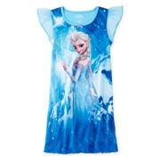 Disney Frozen Elsa Nightgown - Girls 4-8