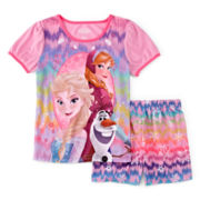 Disney Frozen 2-pc. Pajama Set - Girls 4-8