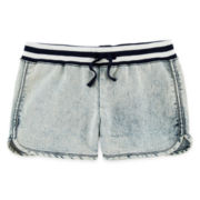 Vigoss® Acid Wash Denim Shorts - Girls 7-14