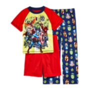 Marvel® 3-pc. Avengers Pajama Set - Boys 4-8