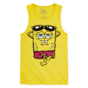 SpongeBob Tank Top – Boys 8-20