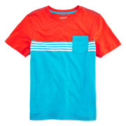 Arizona Striped Pocket Tee – Boys 8-20