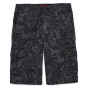 Arizona Print Twill Cargo Shorts - Boys 8-20, Slim and Husky