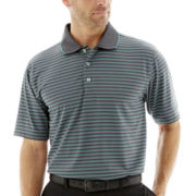 PGA TOUR® Airflux™ 3-Color Mini-Striped Polo