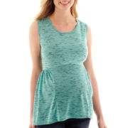 Maternity Slub Knit Tank Top