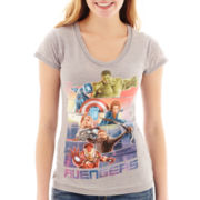 Marvel® Short-Sleeve Avengers Burnout T-Shirt
