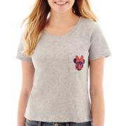 Disney® Short-Sleeve Minnie Pocket T-Shirt