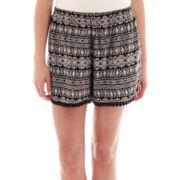 Decree® Crochet-Trimmed Soft Shorts