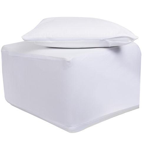 ProtectEase™ Combo Twin XL Mattress Encasement with BONUS Pillow Protector